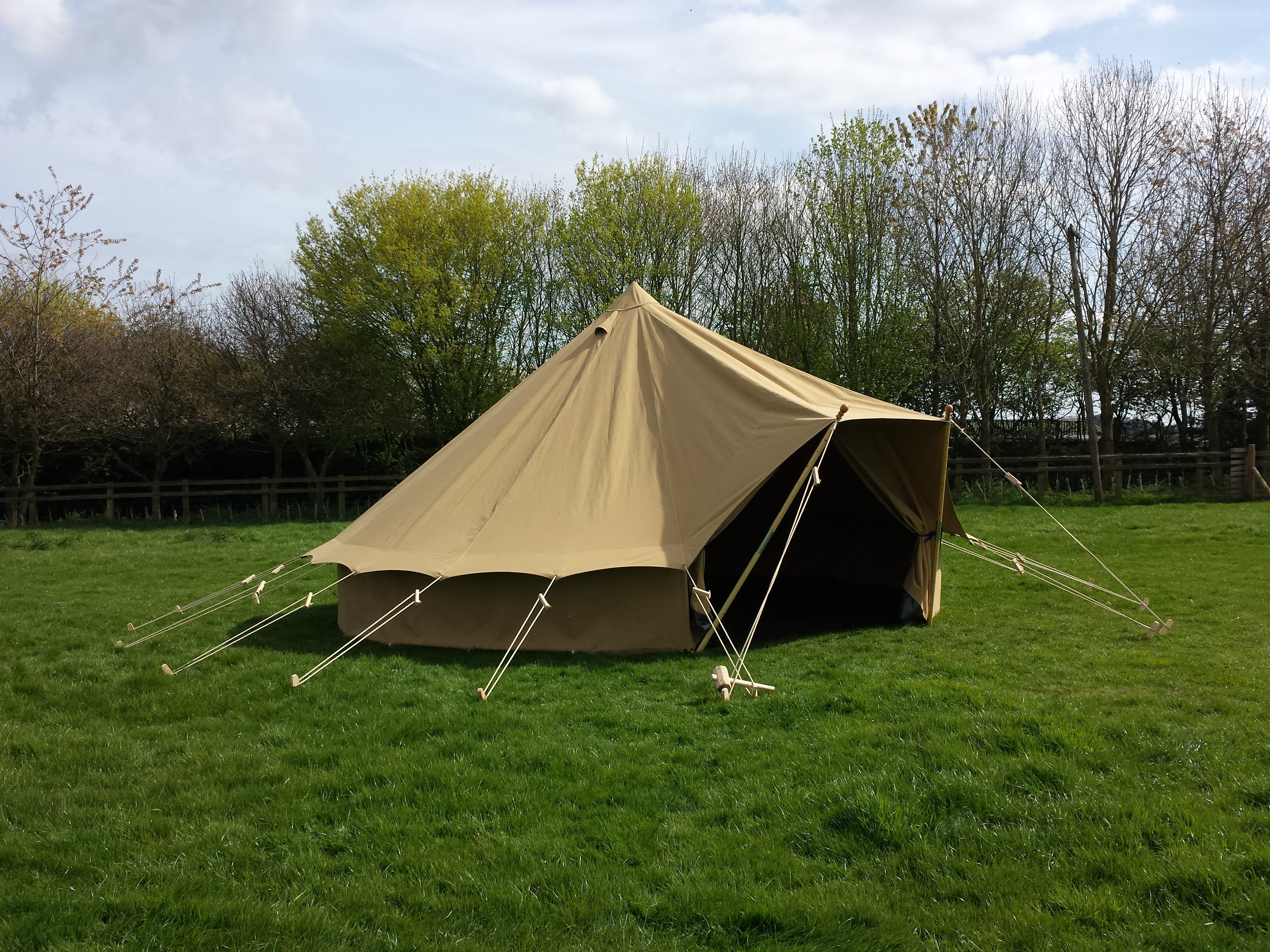 Representative ex&le. You can borrow £3000 over 12 months with 12 monthly repayments of £250.00. Total amount repayable will be £3000. & Bell Tents - Game Fair Finance - The Game Fair
